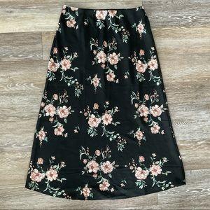 SALE | Floral Slip Skirt